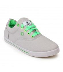 Cefiro Men Casual Shoes Fun04 Light Grey Green CCS0018